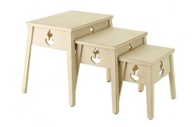 Trois tables marins