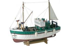 Bateau de pêche nordique