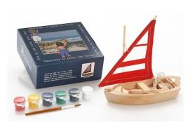 Barco para montar y pintar