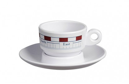 Set 6 Coffee cups MISTRAL