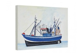 "Painting ""Fishing"" Ship"