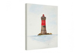 "Painting lighthouse ""Pierres Noires"""