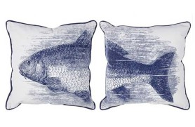 Par Almofadas peixe