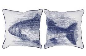 Pareja Cojínes pez