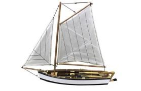 Barco pesca a vela