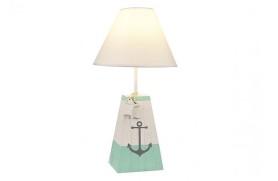 Lampe ancre en bois