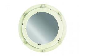 Miroir hublot blanc