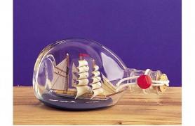Boot in der Flasche