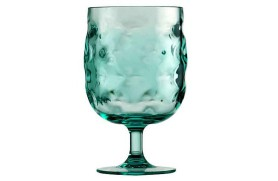 6 Wine Glass MOON - Acqua