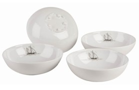 Set 4 Bowl Classic Line Sails