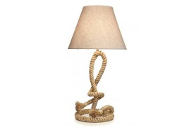 Rope Lamp with knot