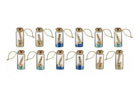 12 Parchment Bottles