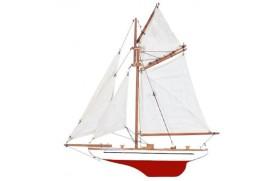 White Half hull
