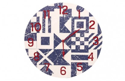 Flags Clock