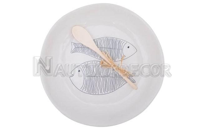 2 Fish Ceramic dishes