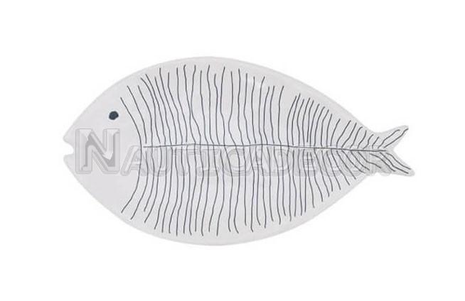 6 Fish Ceramic platter