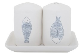 Salt and pepper shaker Fishes