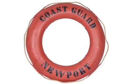 "Decorative lifebuoy ""Coast Guard"""