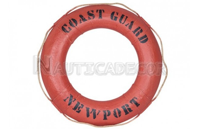 "Decorative life ring ""Coast Guard"""