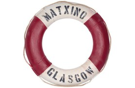 "Decorative lifebuoy ""Glasgow"""