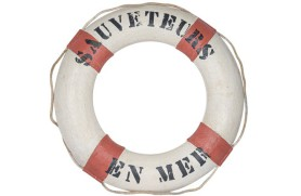 "Decorative lifebuoy ""Sauveteurs"""