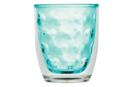 Set 6 thermal glass MOON - Acqua