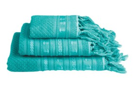 Anchor Towel Set - Acqua