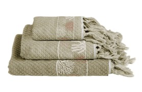 IBIZA Towel Set - Beige