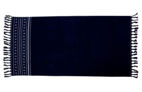 Anchors Beach Towel - Blue