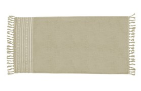 Anchors Beach Towel - Beige