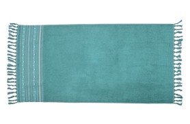 Anchors Beach Towel - Acqua