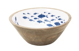 Enameled Fish Bowl