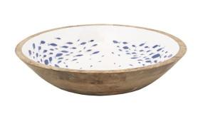 Enameled Fish Bowl