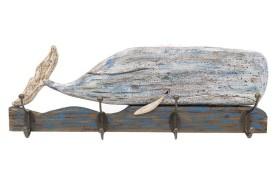 Whale Coat Rack