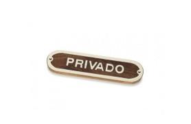 """""""Privado"""" Plate"""