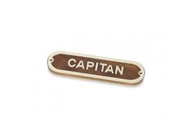 """CAPITAN"" Plate"