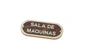 """""""SALA DE MAQUINAS"""" Plate"""