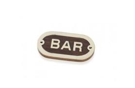 """BAR"" Plate"