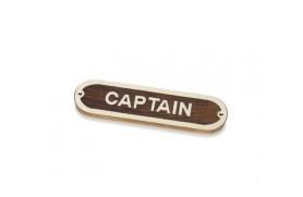 """""""CAPTAIN"""" Plate"""