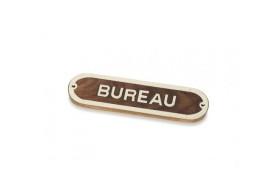 """""""BUREAU"""" Plate"""