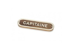 """CAPITAINE"" Plate"