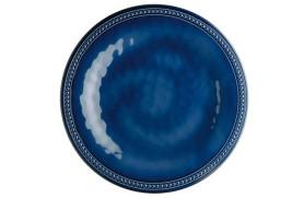 Set 6 Flat dish HARM. Blue