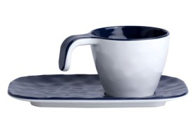 Set 6 Coffee cups Blue