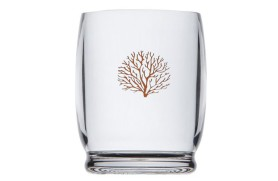Set 6 Water glass Coral