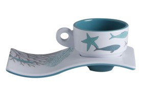 Set 6 Coffee cups COASTAL