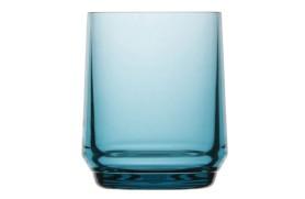 Set 6 water glass bahamas - Turq