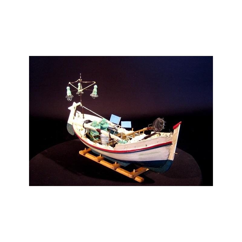 bateau de peche nuit