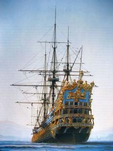Maqueta de buque