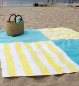 Toallas de playa como escoger la mejor toalla para el - Toallas de playa dobles ...