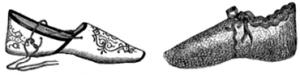 zapatos baño